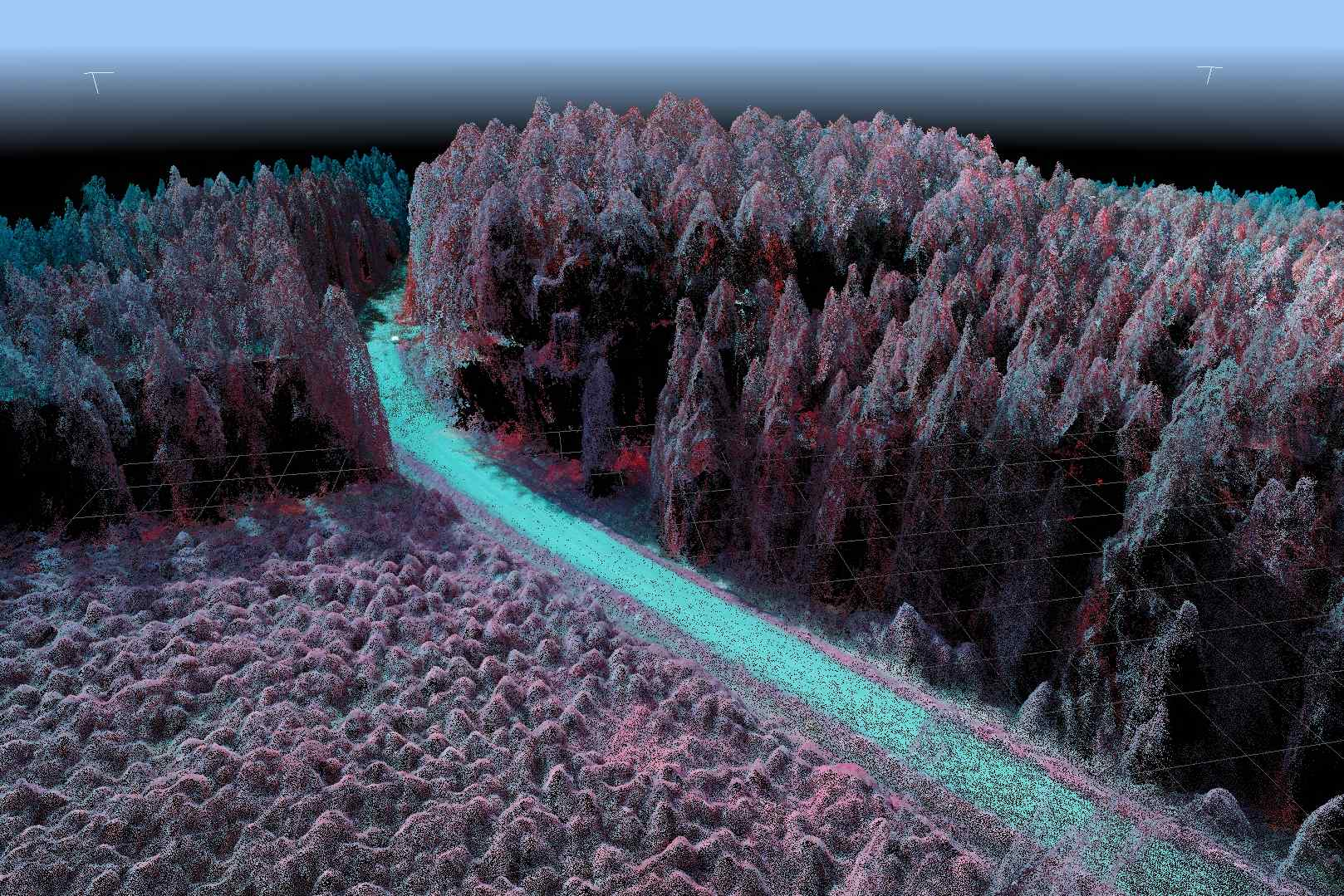 multispectral point cloud